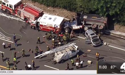 BREAKING: Two state troopers rushed to hospital after massive highway wreck
