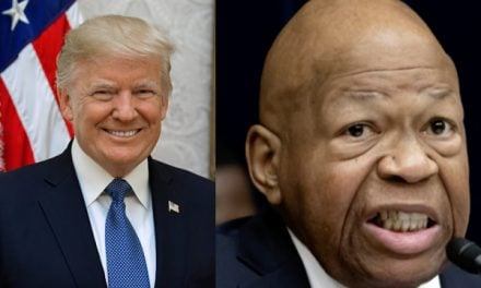 Rep. Cummings: Baltimore is safe and Trump is a racist.  Also Cummings: Someone just broke into my home.