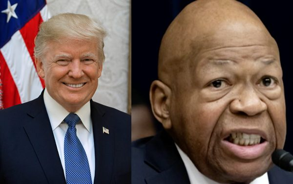 Trump to Rep. Cummings: Before you mock Border Patrol, you should look at your dump of a city.