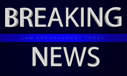 Breaking news: Six officers shot – standoff underway.  Media reporting officer positions, increasing threat.