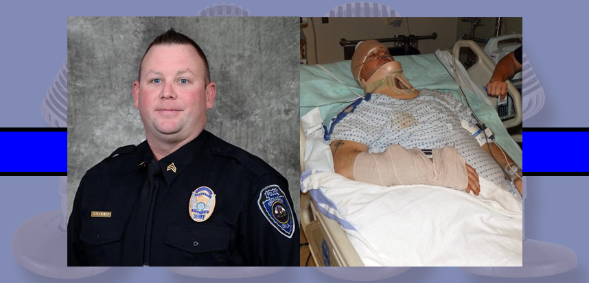Profiles In Courage – Shot Many Times, He Survived With Severe Injuries – Police Sgt. Matthew Schoolfield.