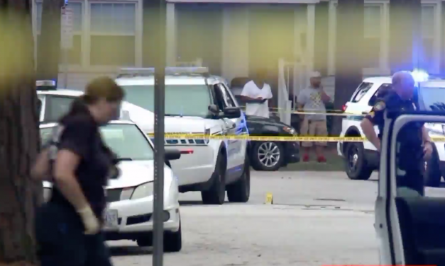 Murder suspect ambushes and shoots officer, civilian – gets shot back by wounded officer
