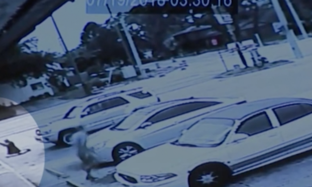 Shooter in 'Stand Your Ground' trial says bad guy ran at him. Video shows otherwise.