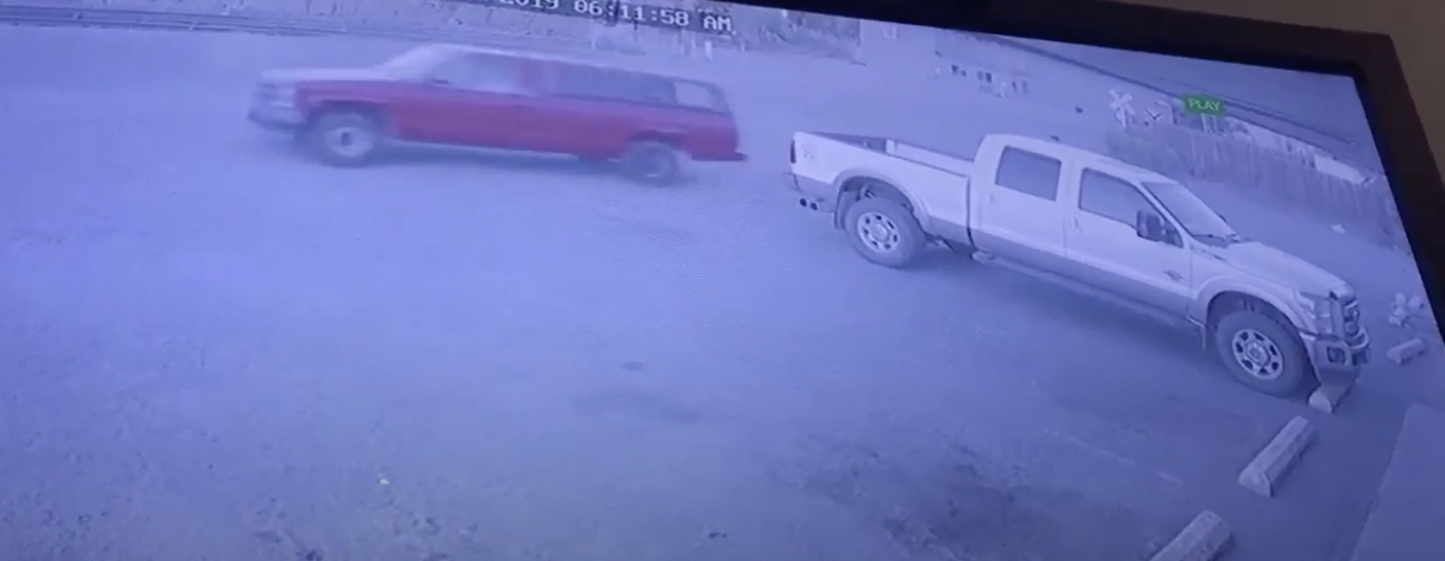 Robber gets truck stolen while robbing store
