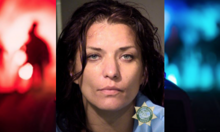 Police: Woman wrecked her motorcycle then attacked the cop who tried to help