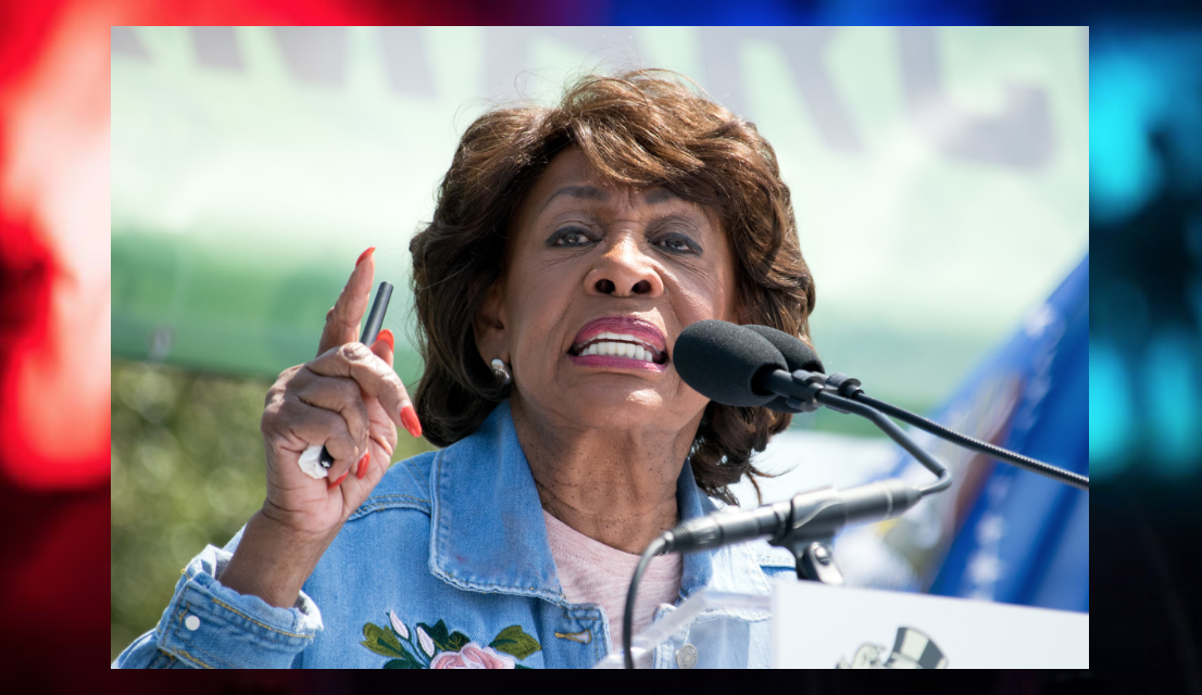 Maxine Waters just blamed police – not criminals – for violent crime in Chicago