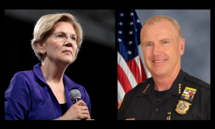 Warren: Police are racist murderers. Chief: Come see what being a cop is really like.