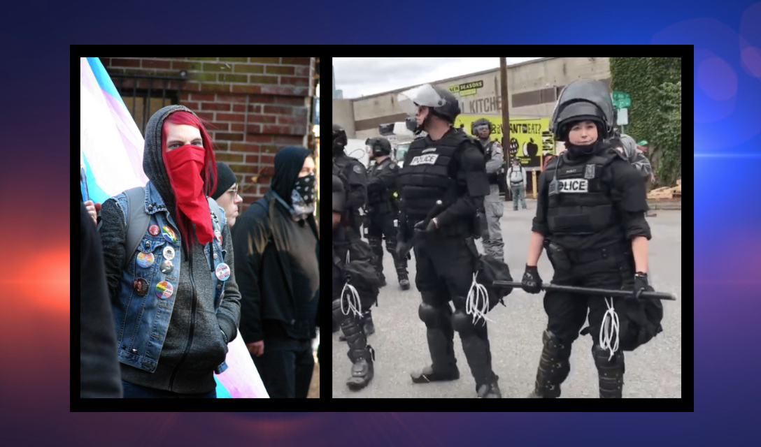 Antifa to Portland cops: 'Shoot yourselves! Suicide is the only way out!'