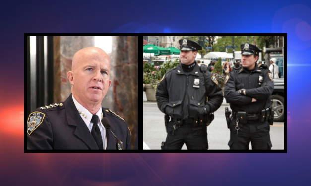 Police union slams NYPD commissioner: You cringe in fear of anti-police extremists