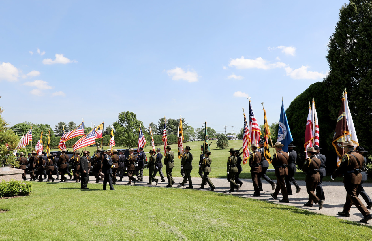 officer_caprio_funeral_flags_officer_down