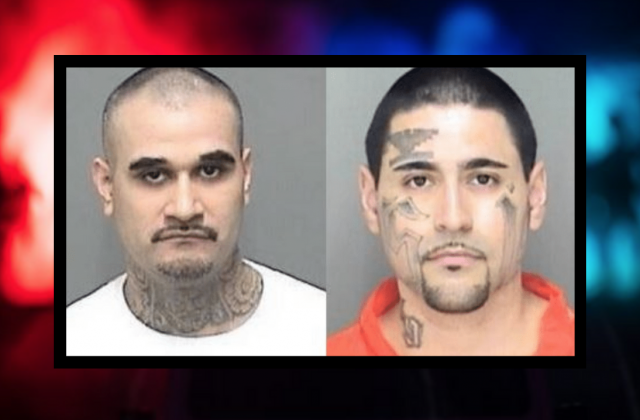 Gang members who tried to kill cop laugh as they're given life in prison