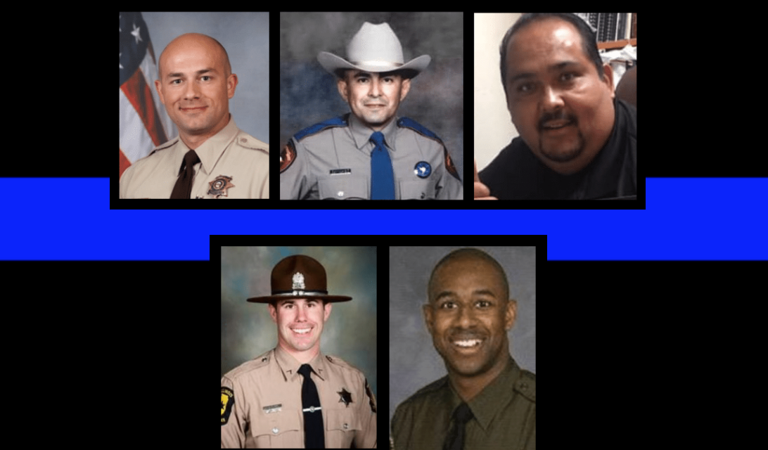 We lost five heroes in two days. Today we remember their sacrifice.