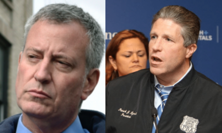 Mayor: NYC is the safest it's ever been. Cops: BS… Time for you to go.