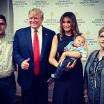Trump haters threaten baby with death after viral photo