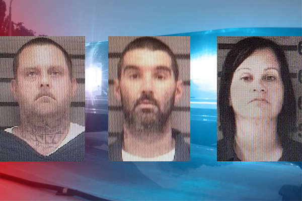 Police say these three robbed a church. They need your help finding them.