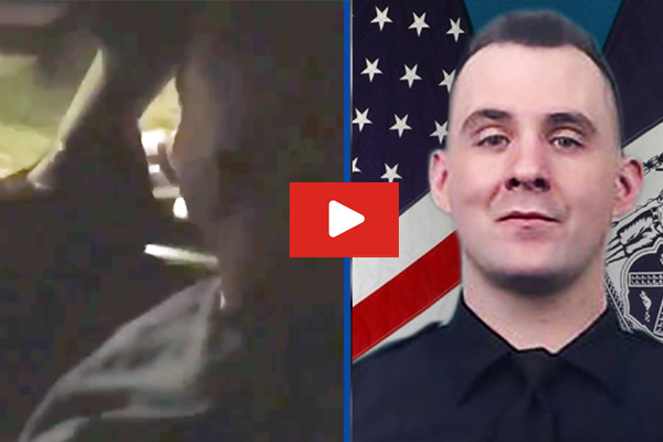 Heartbreaking video shows NYPD Officer Mulkeen singing with partner an hour before he was murdered