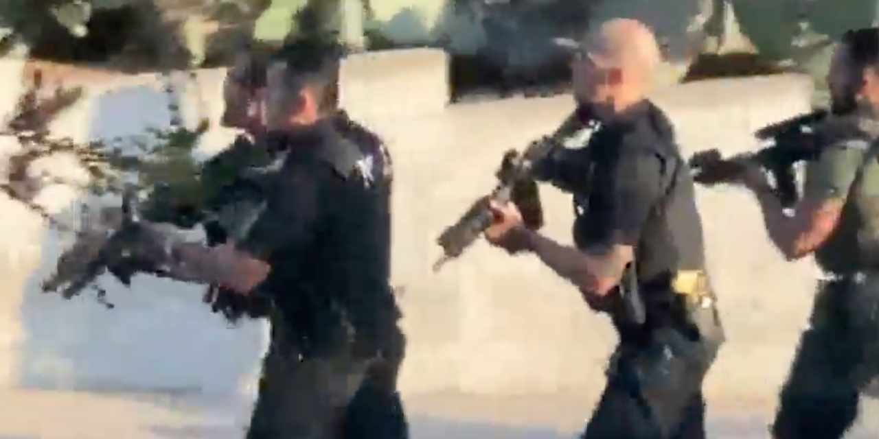 These officers came under attack this weekend. The media largely ignored it.