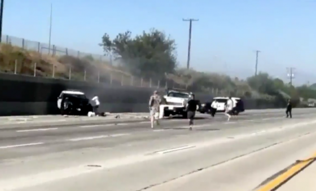 Police: California officer seriously injured after stopping suicide attempt