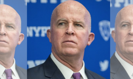 NYPD cops: Commissioner O'Neill needs to resign. O'Neill: I'm not going anywhere.