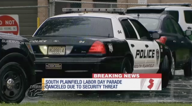 Event canceled after police find explosives near Labor Day parade route