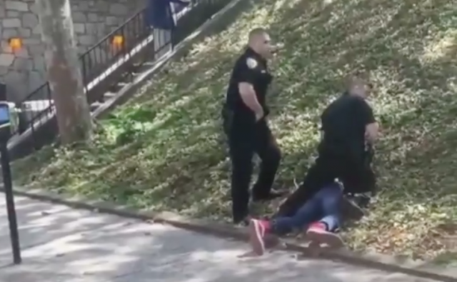 Watch: Officers suspended after video of 15-year-old boy's arrest goes viral