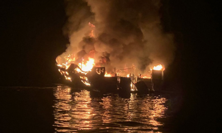 33 feared dead after dive boat catches fire