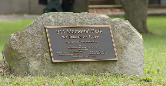 Town to homeowner: Remove 9/11 memorial from property or face a daily fine