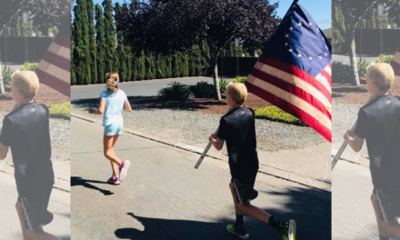Incredible: 11-year-old twins pledge to run a mile for every fallen officer