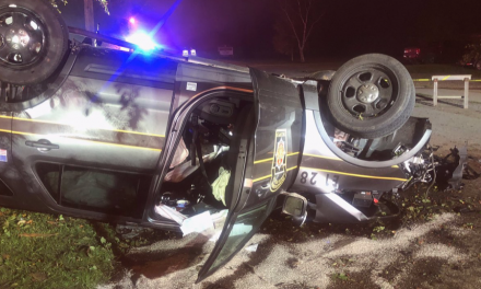 Breaking: State troopers rushed to hospital after pursuit ends in crash