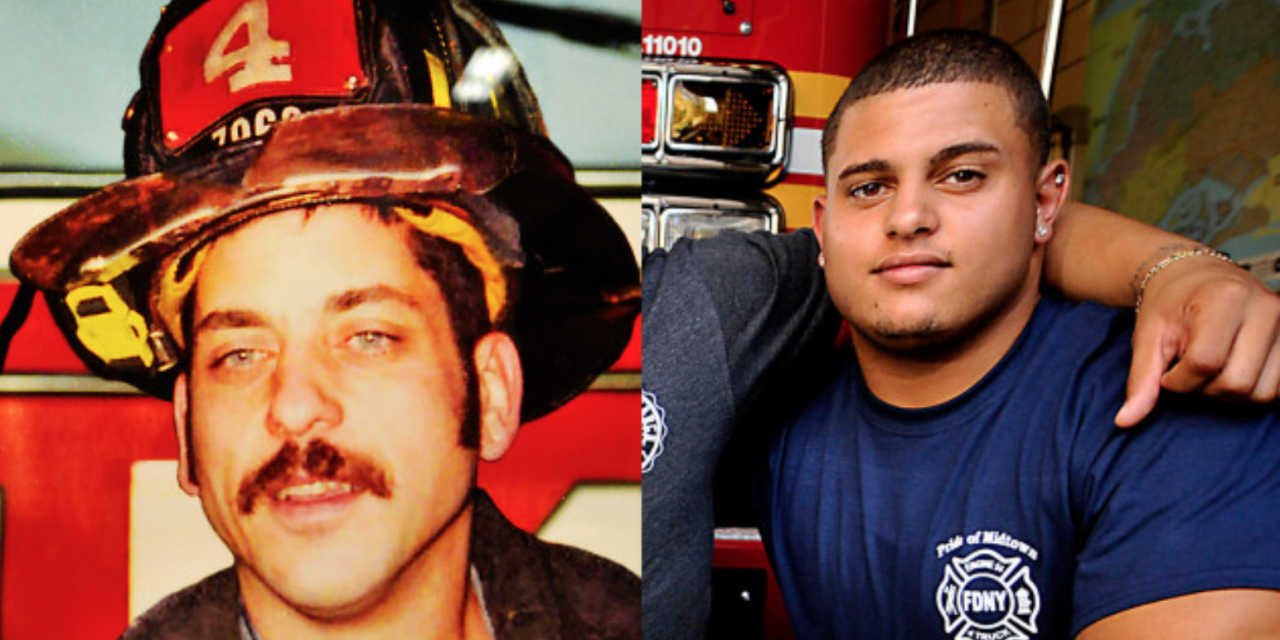 Children of fallen 9/11 heroes are becoming the next generation of first responders