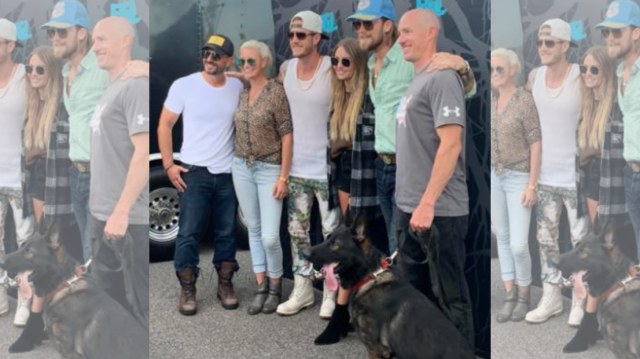 Famous country musicians Florida Georgia Line donate K9 to police