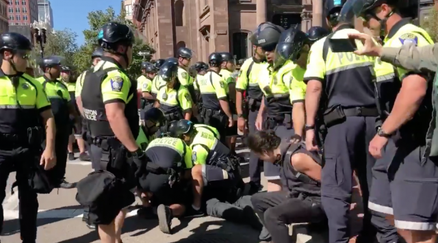 Boston police commissioner defends officer actions from 'Straight Pride Parade'