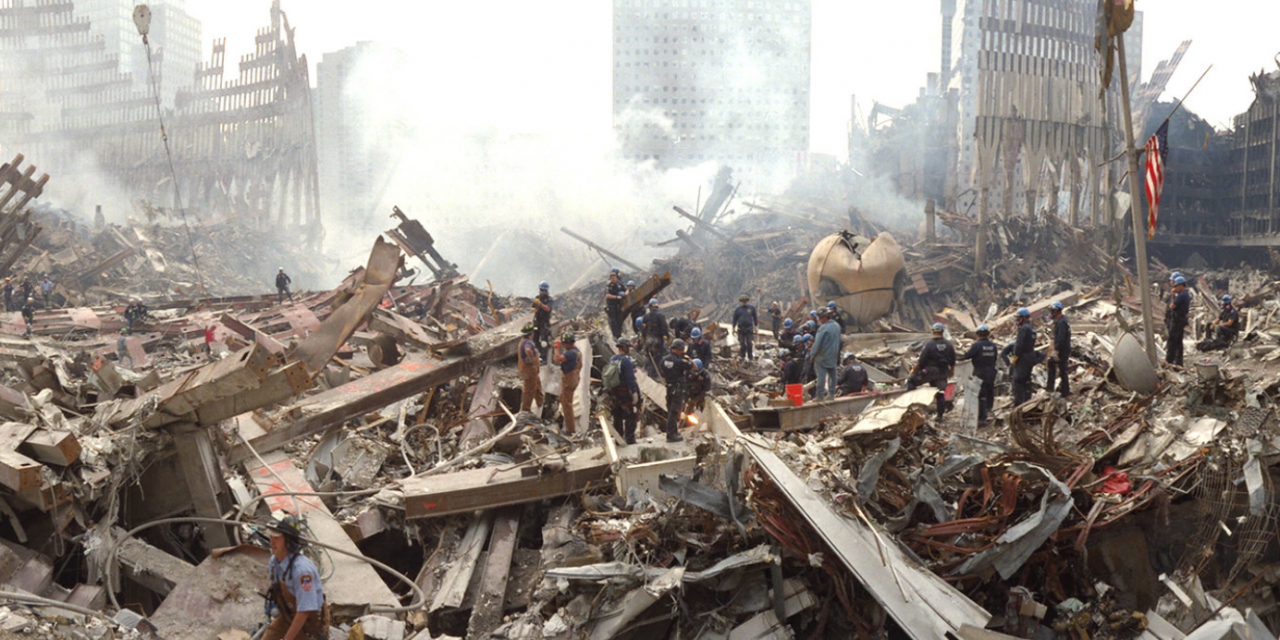 18 years later… I can still smell, hear and see everything from Ground Zero