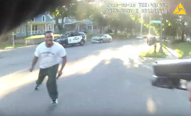 Anti-police protesters want justice for Ronald Davis. Here's the video of their 'victim'