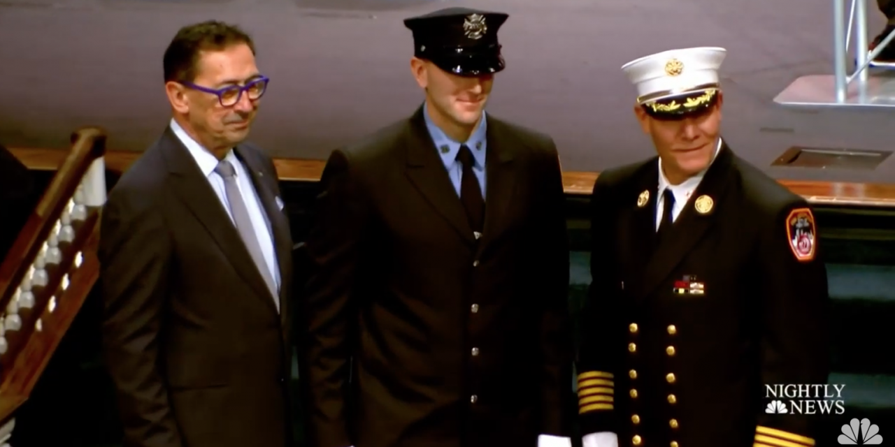 Watch: 13 children of fallen 9/11 firefighters graduate FDNY Academy