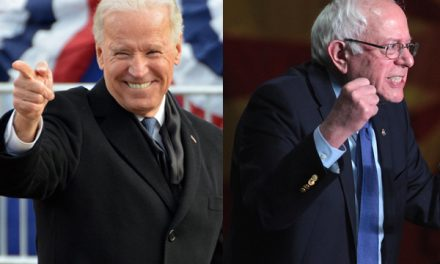 Biden, Sanders take turns bashing cops before Trump honored for supporting law and order