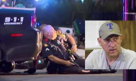 """Hero officer shot by sniper: """"I was hit by definitely not out of the battle."""""""
