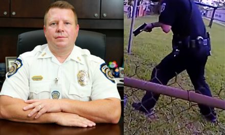 Police chief publicly attacks officer cleared by grand jury so he can save face