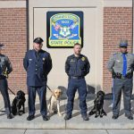 Connecticut State Police roll out firearms sniffing dogs