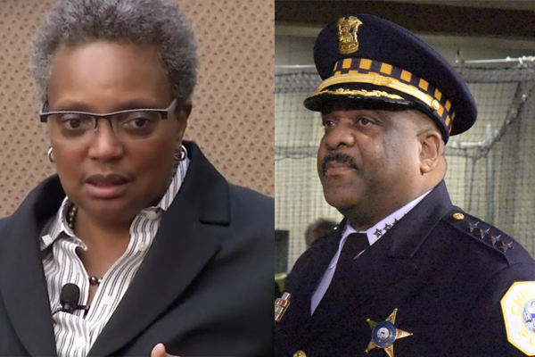 Chicago mayor Lori Lightfoot accused the top cop of DUI.