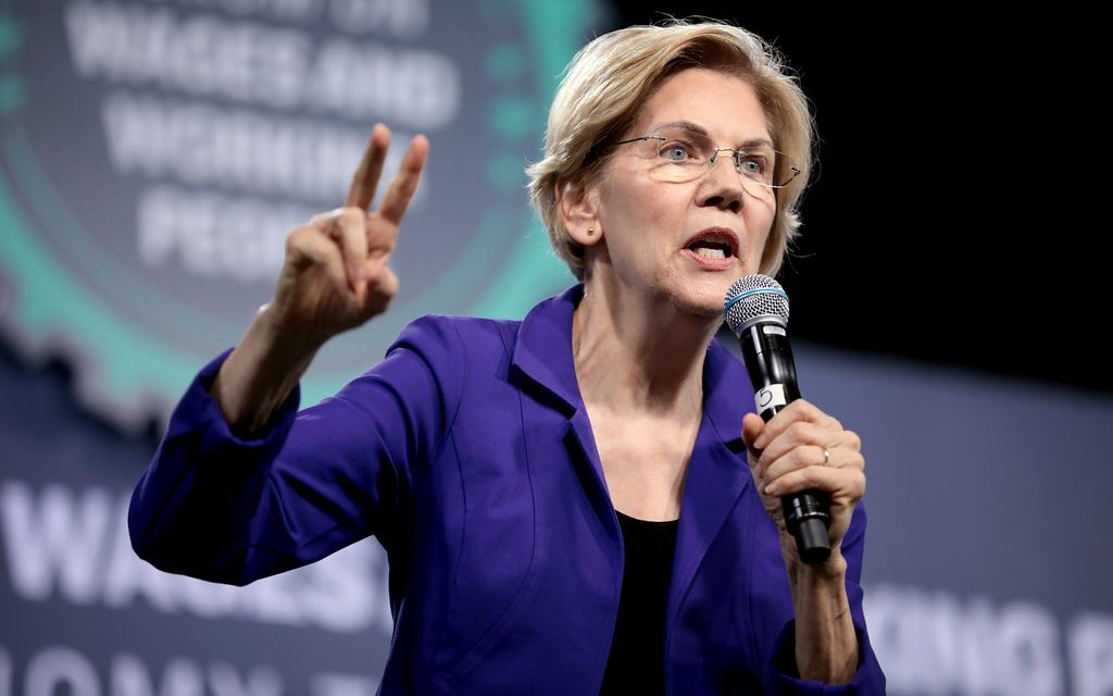 Elizabeth Warren says if elected, she'd fire every single pro-life Trump administration official