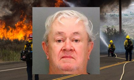 Police: Man flew to California, spent two days lighting wildfires, tried to fly home