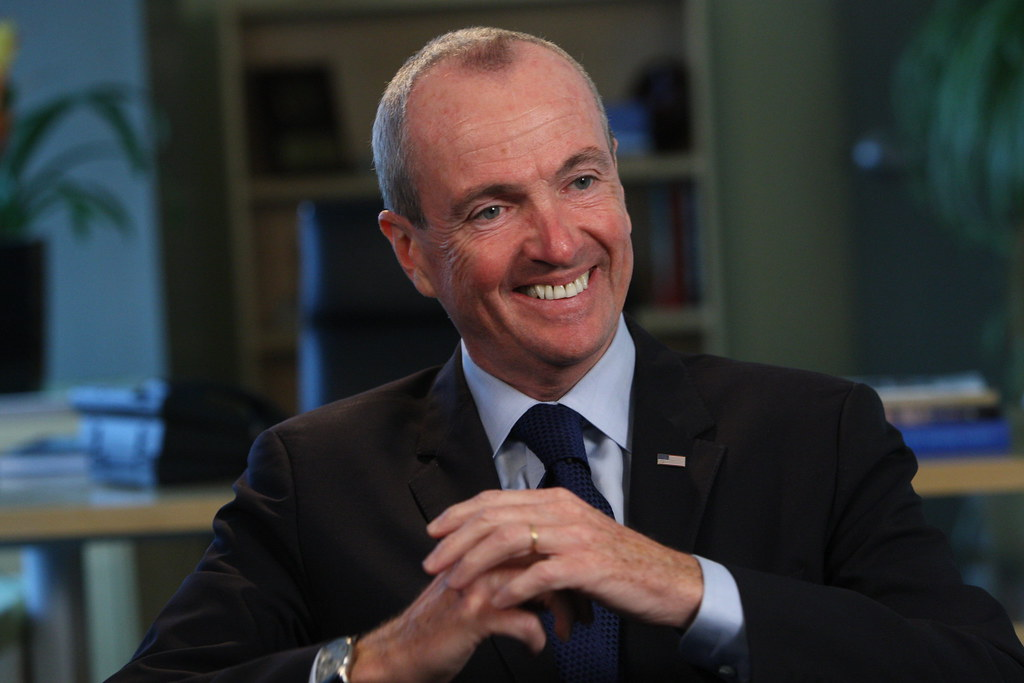 Governor Phil Murphy - Courtesy Flickr