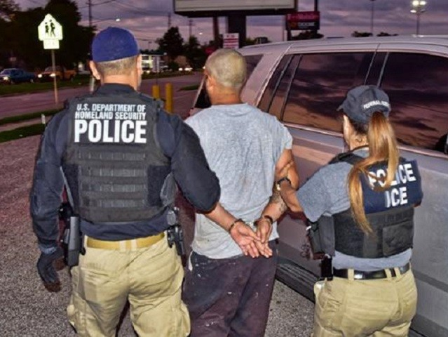 ICE arrests felon for threatening to shoot them. He's already been deported four times.