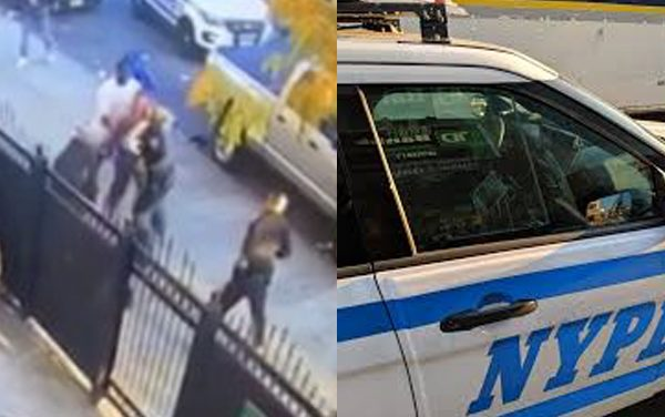 NYPD officers brutally attacked trying to arrest man. Judge releases attacker immediately with no bail.