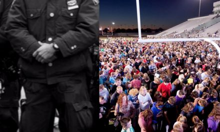 Cop: Hundreds of officers silently joined 250,000 students across America to honor God