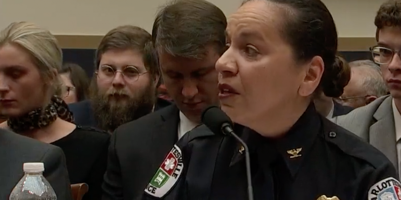 """Police chief: I want a ban on all weapons.  Actual cop: """"You're a fake chief and we won't comply."""""""