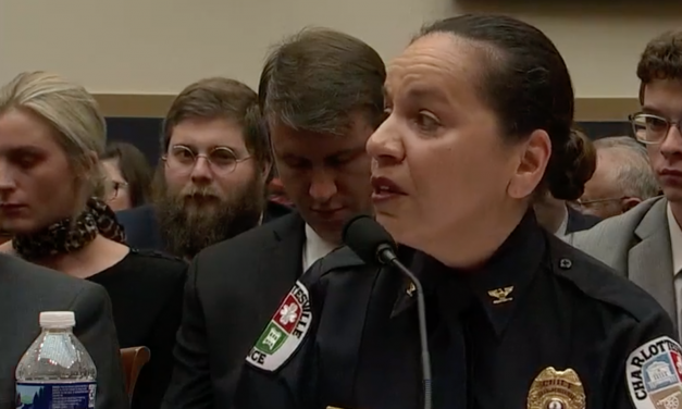 "Police chief: I want a ban on all weapons.  Actual cop: ""You're a fake chief and we won't comply."""