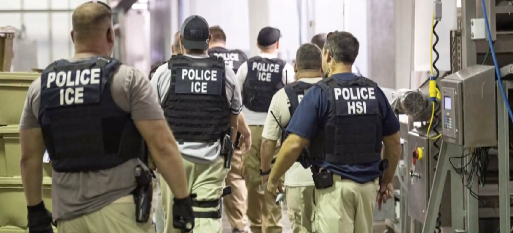 HSI, ICE, Police - Screenshot from PBS YouTube video