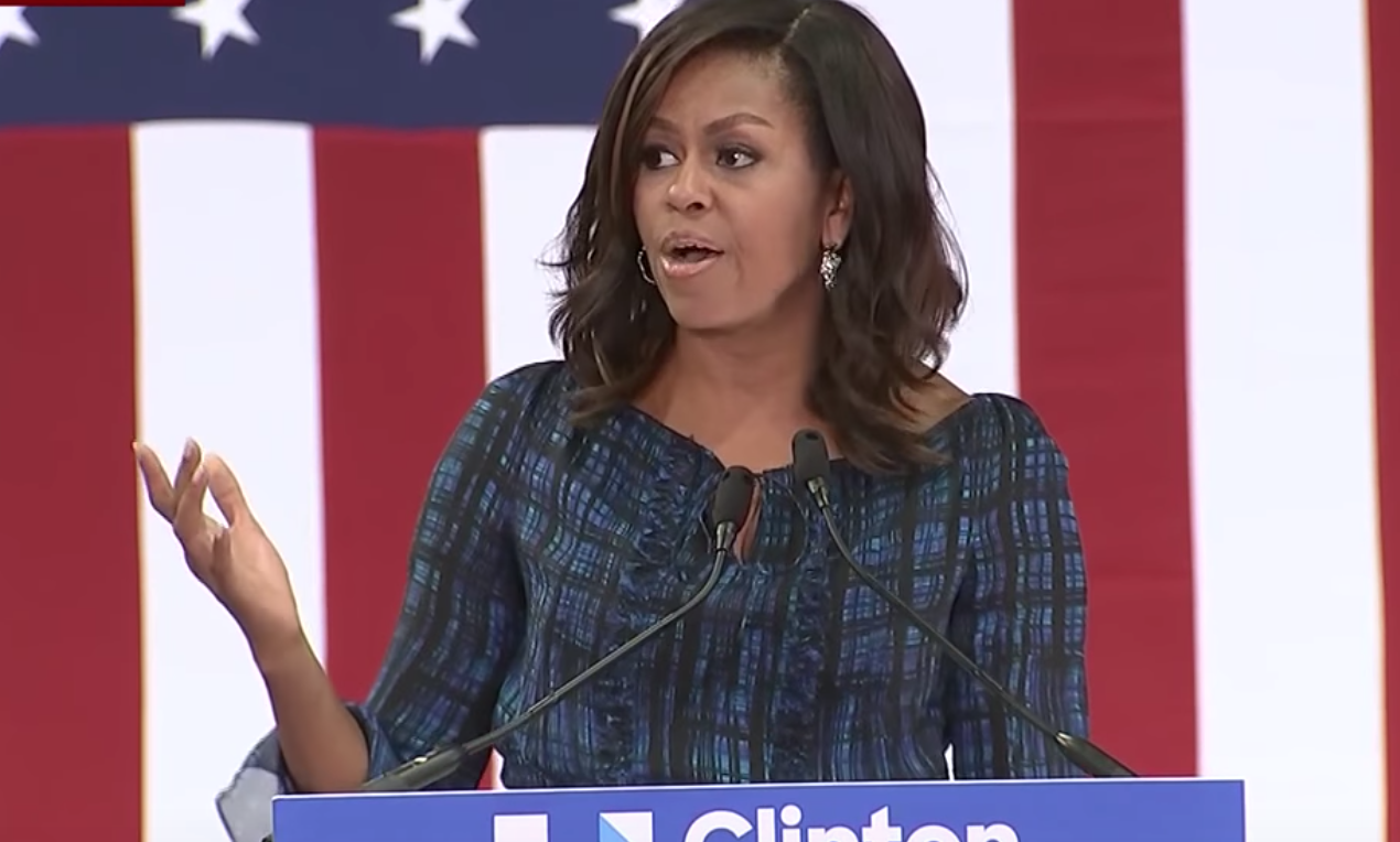 Michelle Obama defends BLM protests: 'taking to streets because they HAVE to'
